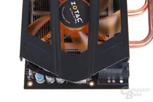 GeForce GTX 680 AMP! von oben
