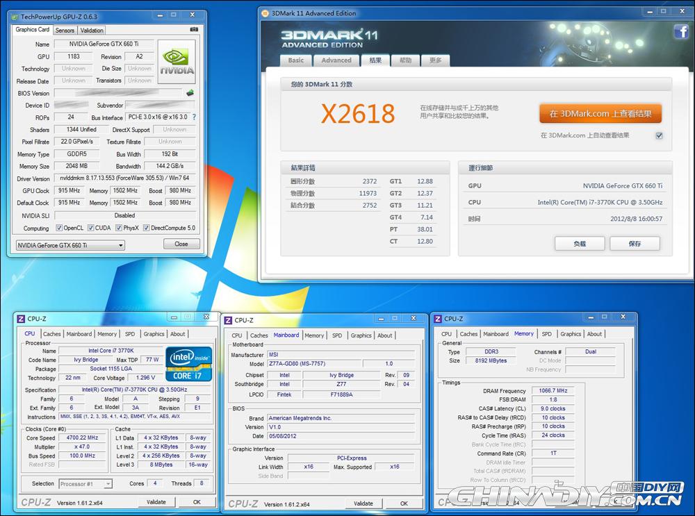 GTX 660 Ti 3DMark 11 Extreme