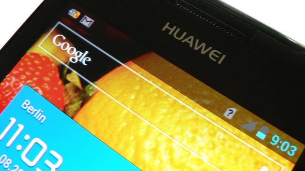 Huawei Ascend P1 im Test: Das superdünne Smartphone aus China