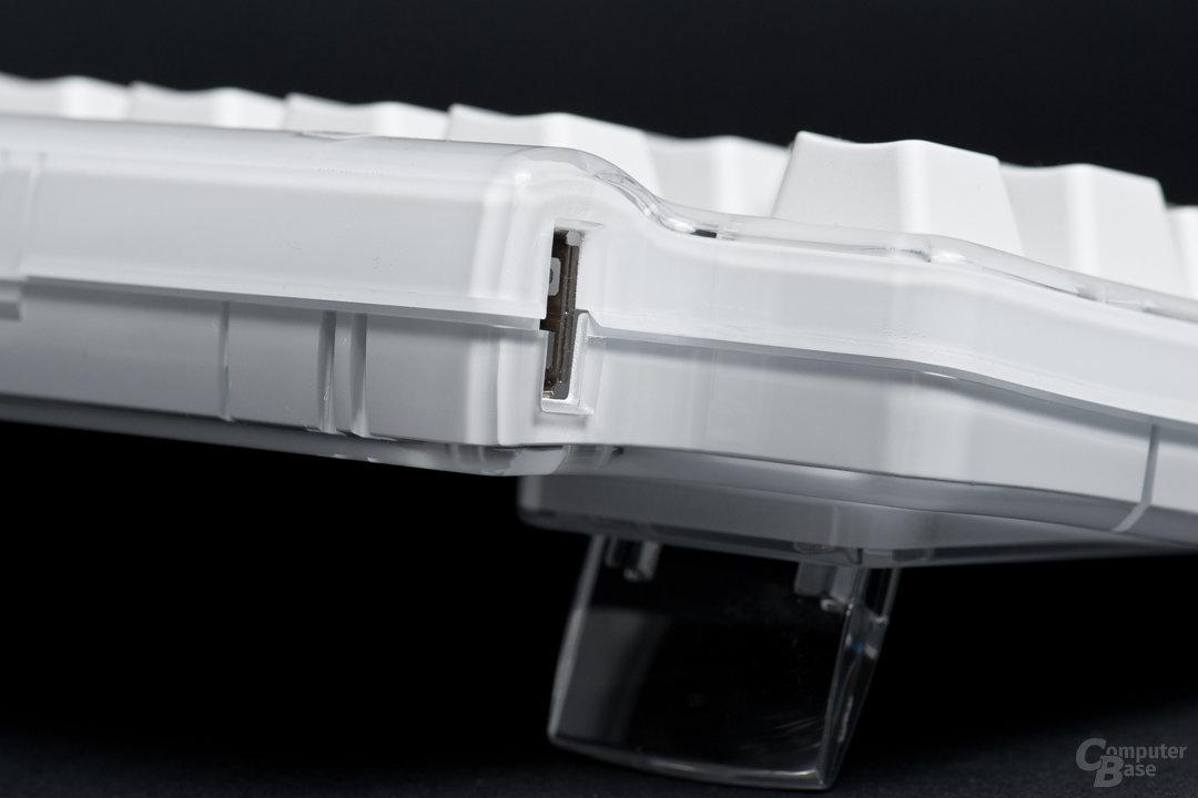 Kunststoffgehäuse nicht ideal für die Akustik