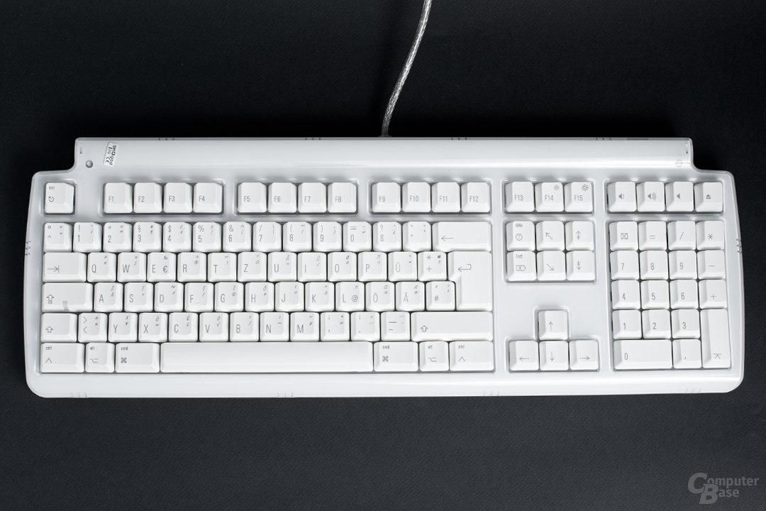 109-Tasten-Layout nach Apple-Vorbild