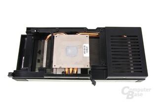 GTX 660 Phantom Kühlerrückseite