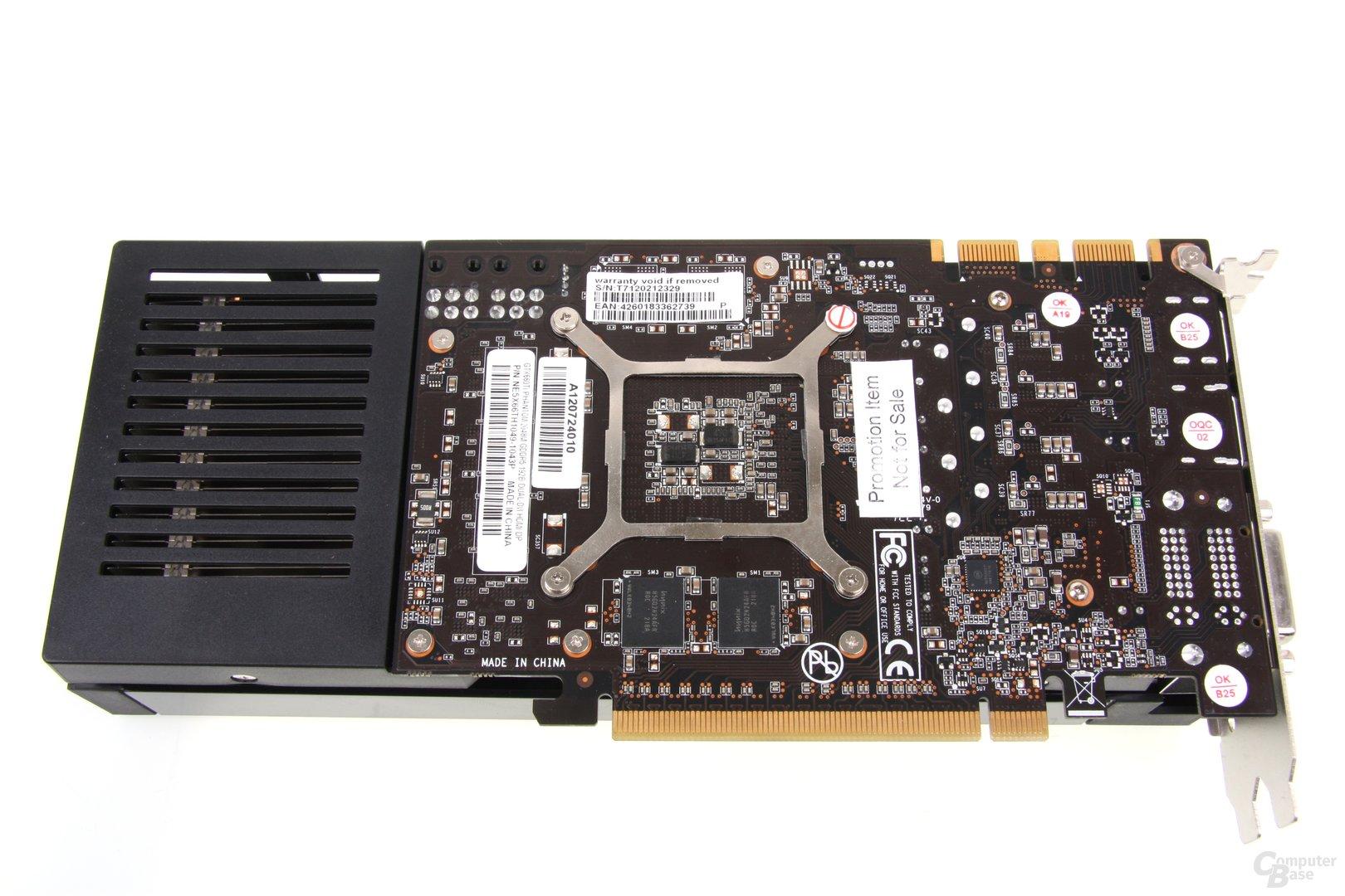 GeForce GTX 660 Phantom Rückseite