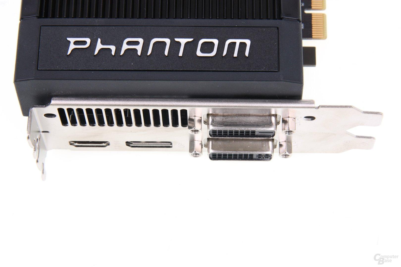 GeForce GTX 660 Phantom Anschlüsse