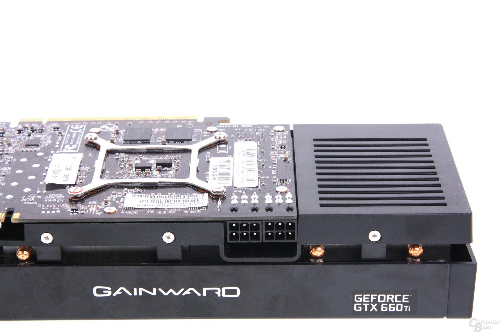 GeForce GTX 660 Phantom Stromanschlüsse