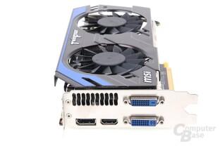 GeForce GTX 660 Ti PE OC Slotblech