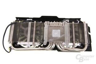 GeForce GTX 660 Ti PE OC Kühlerrückseite