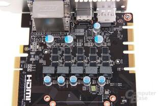 GeForce GTX 660 Ti PE OC Stromversorgung