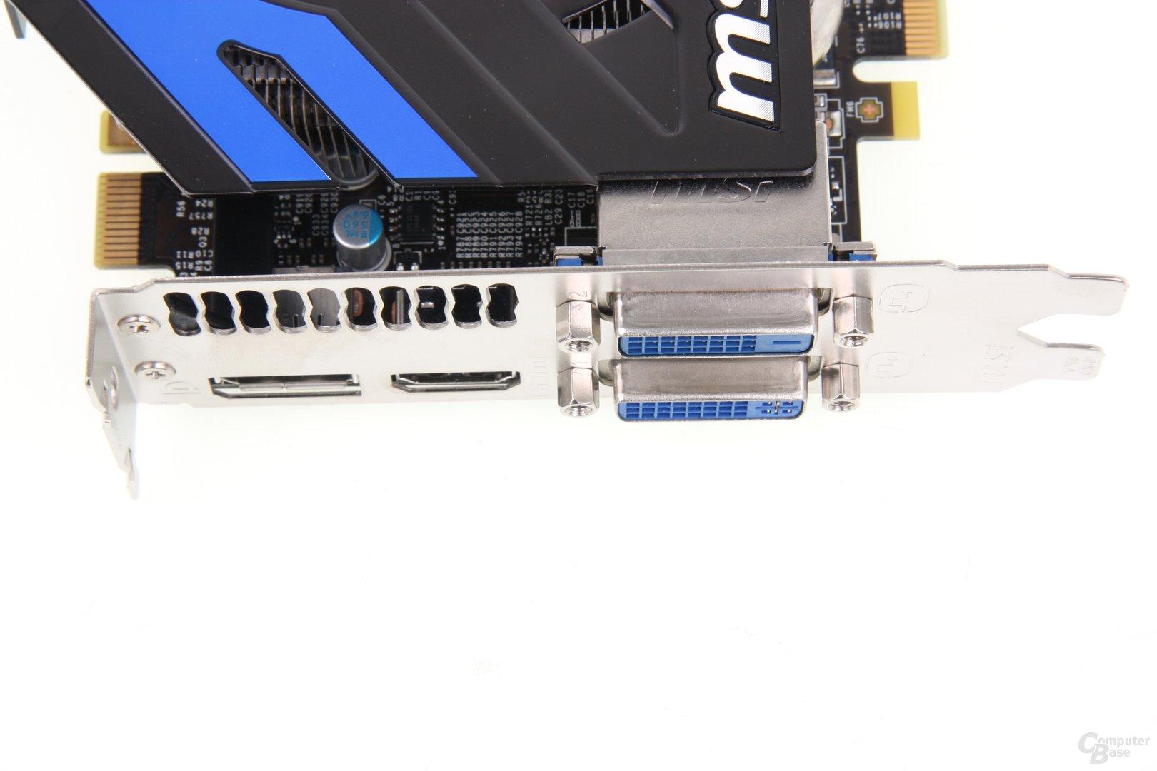 GeForce GTX 660 Ti PE OC Anschlüsse