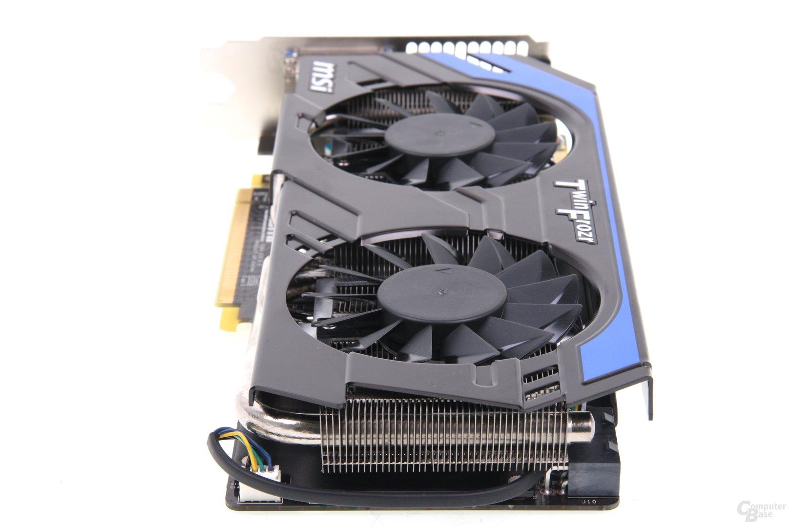 GeForce GTX 660 Ti PE OC von hinten