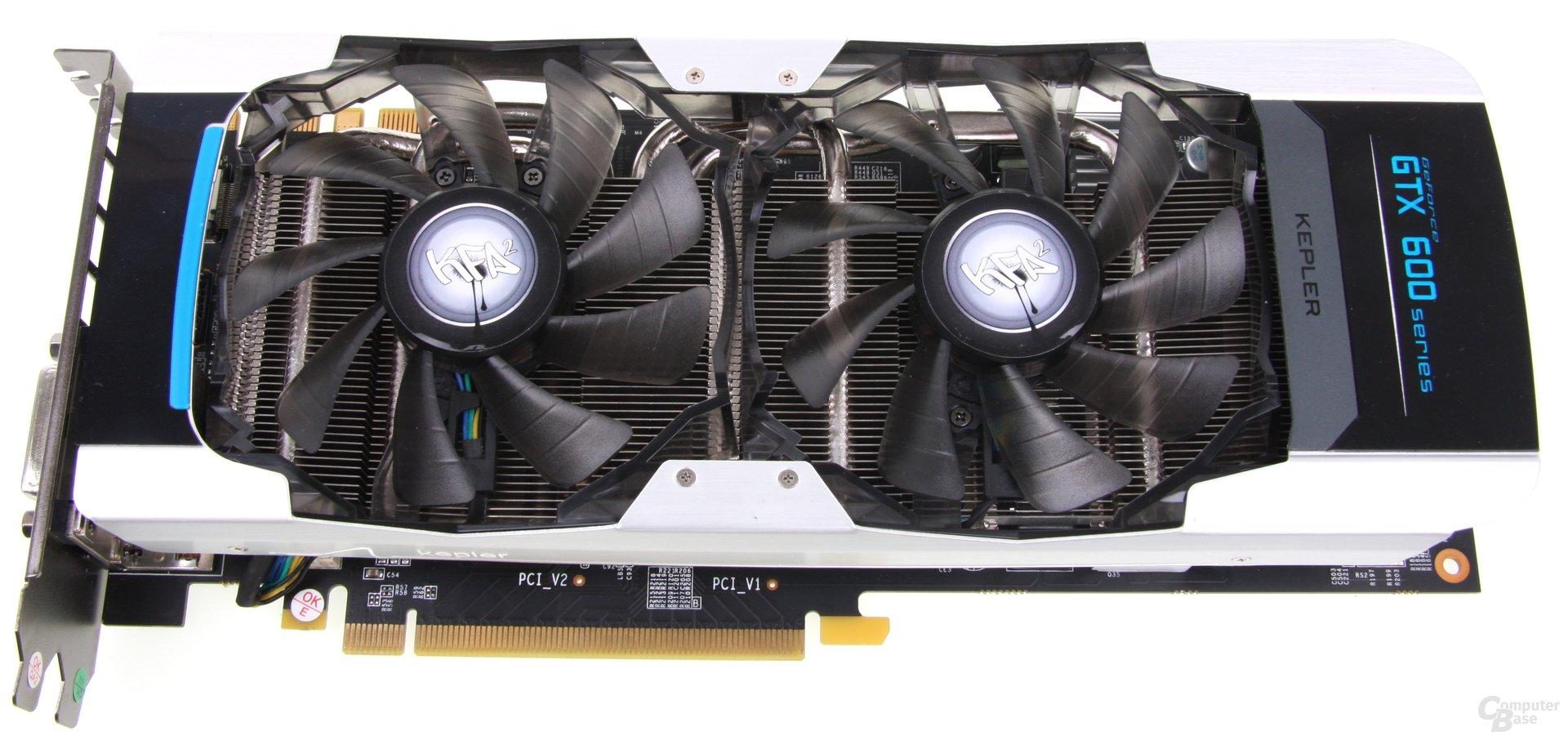 KFA² GeForce GTX 660 Ti OC EX