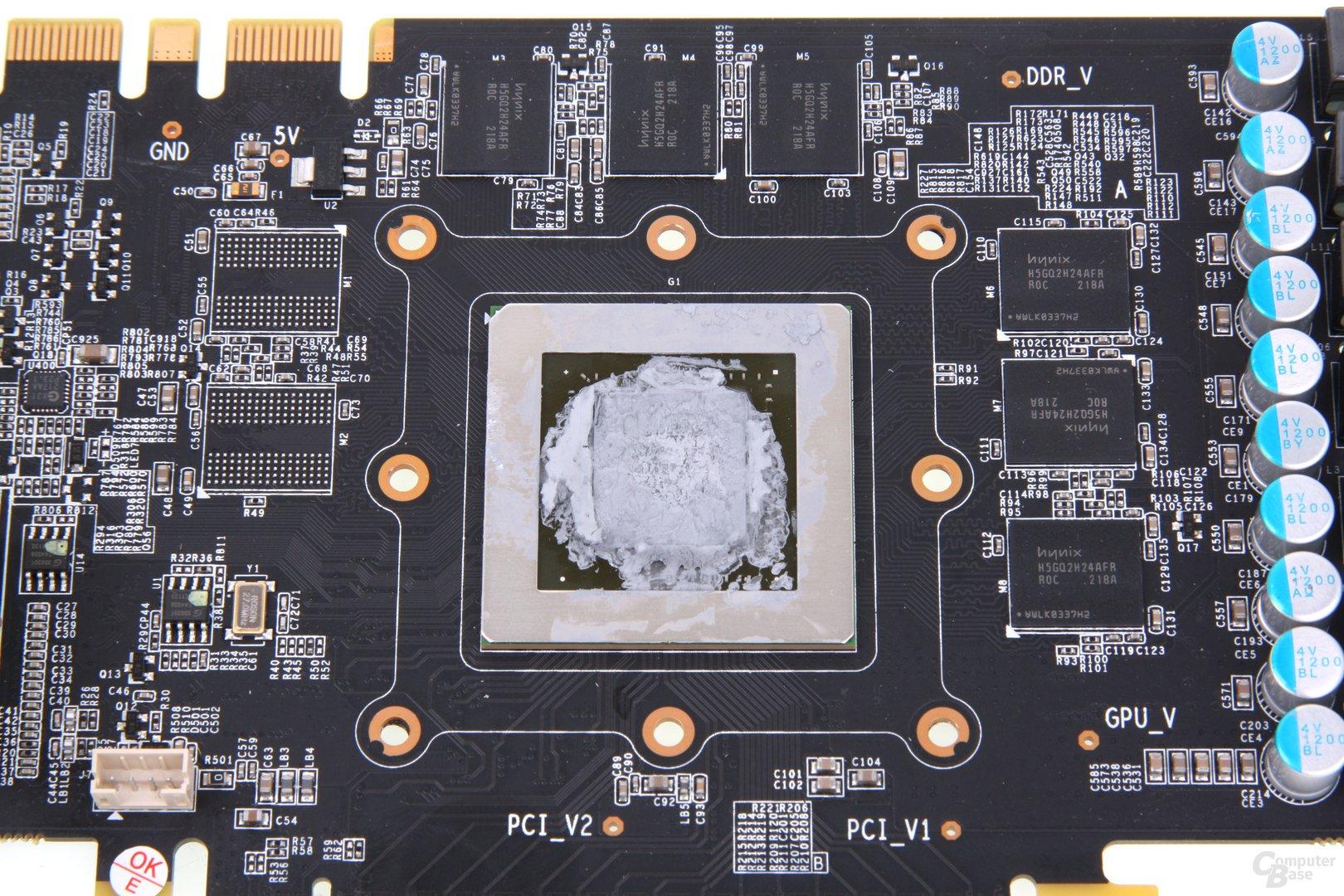 GeForce GTX 660 Ti OC EX GPU und Speicher