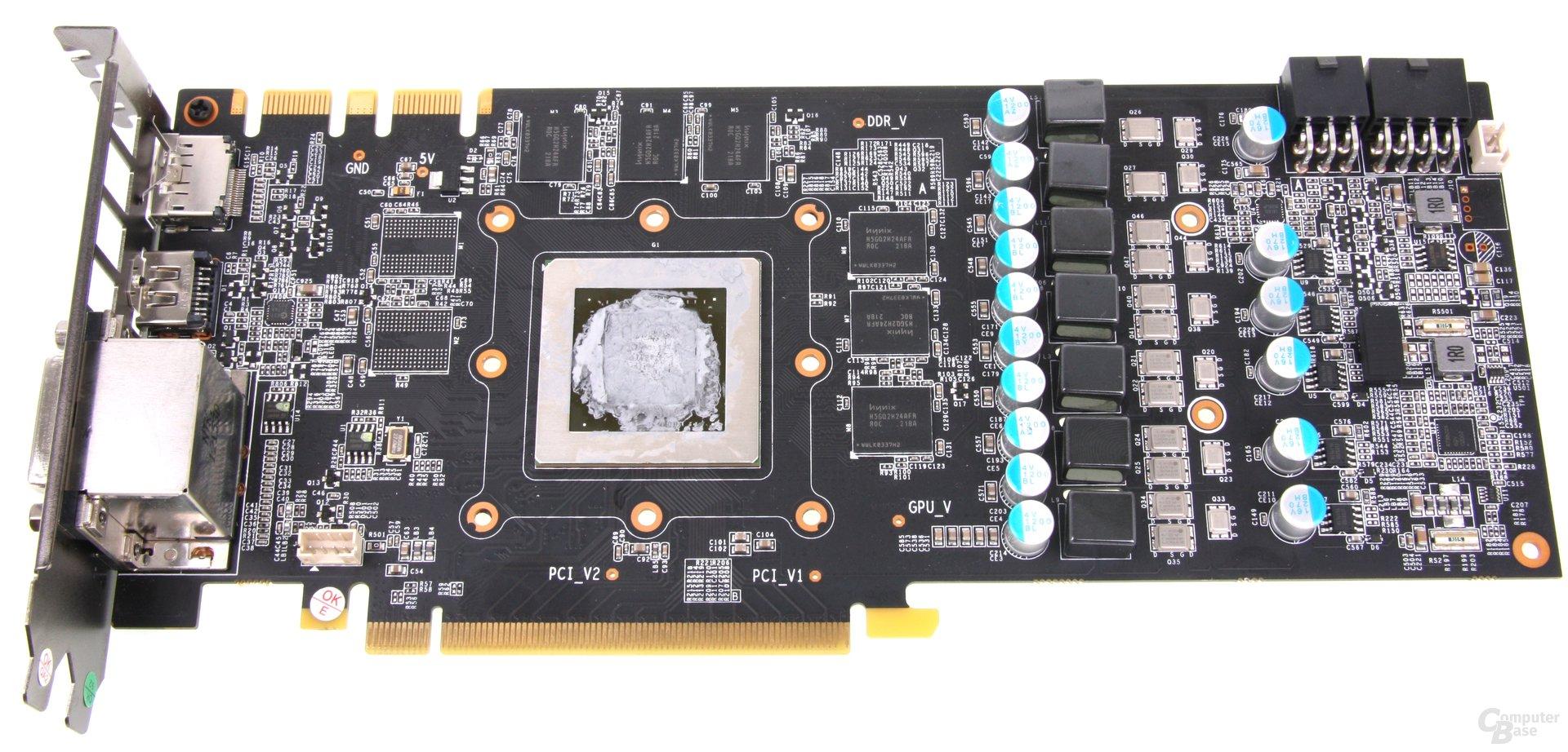 GeForce GTX 660 Ti OC EX ohne Kühler