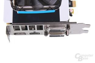 GeForce GTX 660 Ti OC EX Anschlüsse