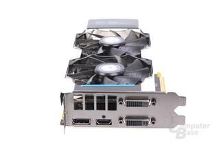 GeForce GTX 660 Ti OC EX Slotblech