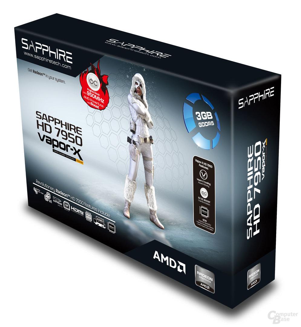 Sapphire Radeon HD 7950 Vapor-X OC with Boost