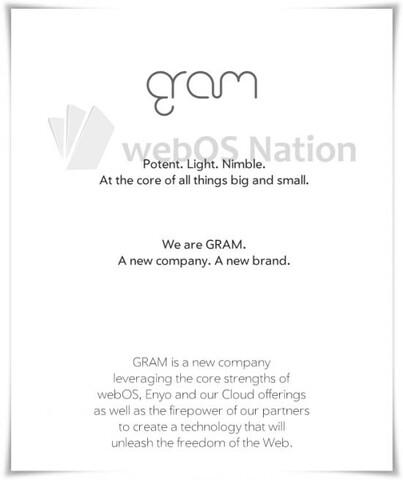 Bekanntgabe von GRAM