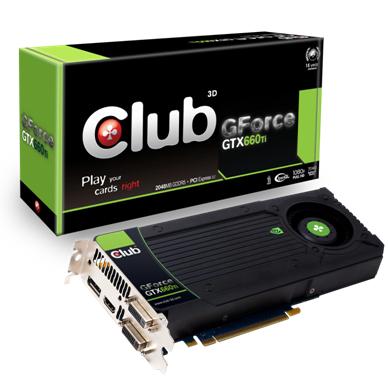 Club3D GeForce GTX 660 Ti