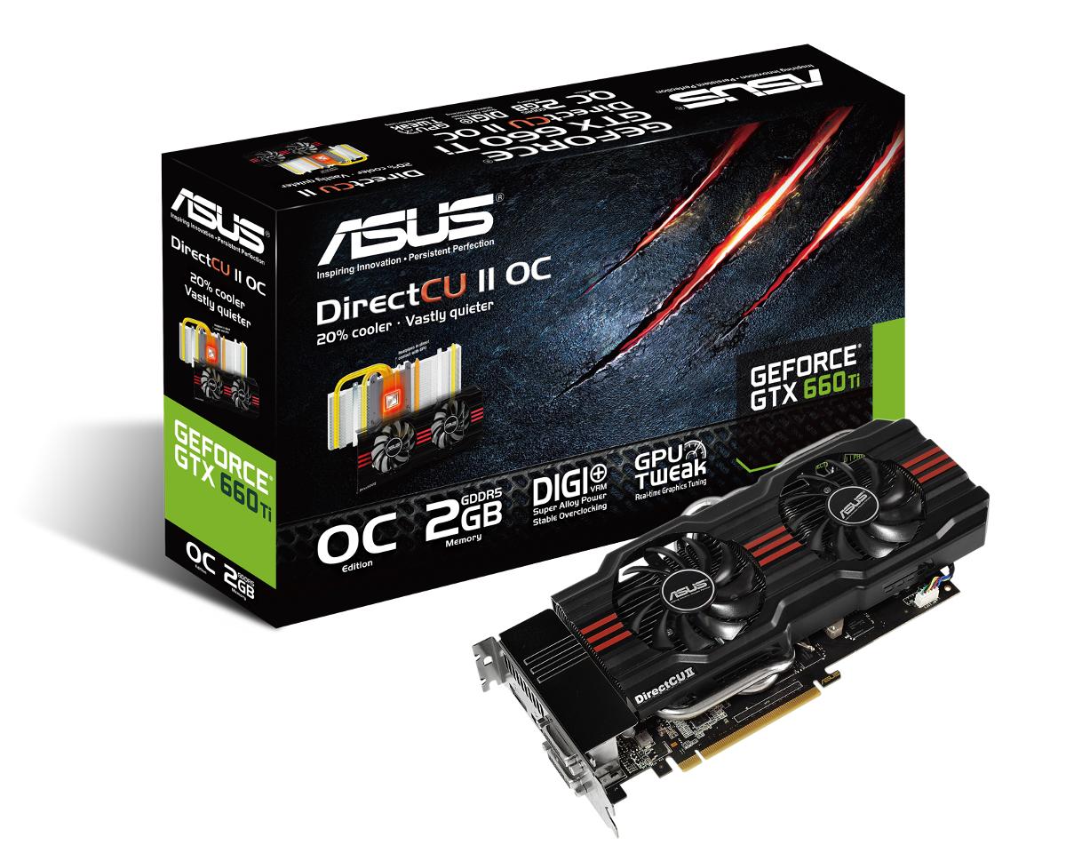 ASUS GeForce GTX 660 Ti DirectCU II OC