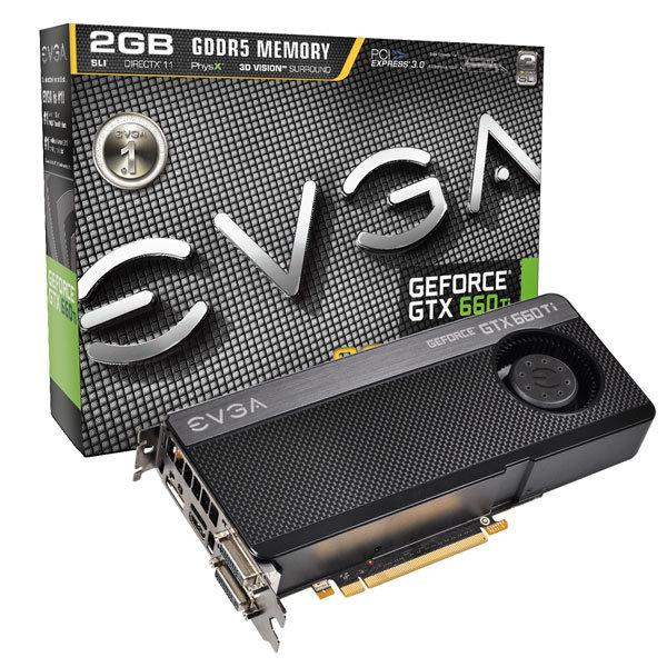 EVGA GeForce GTX 660 Ti SC