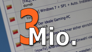 Der ideale Gaming-PC: Leserartikel mit über 3 Millionen Ansichten