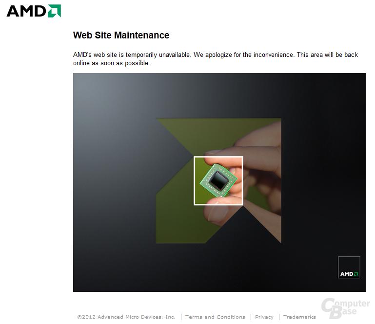 Gehackter AMD-Blog