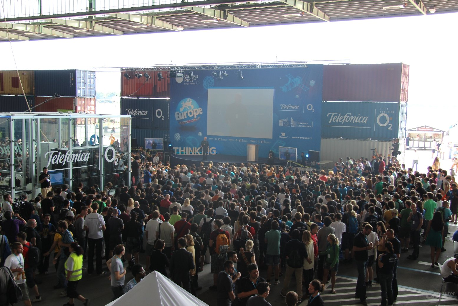 Campus Party Europe 2012 in Berlin