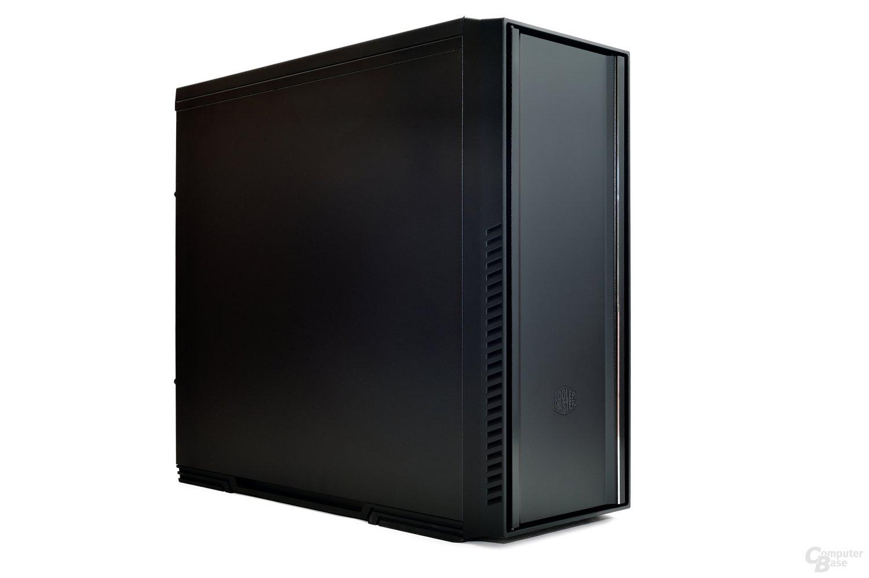 CoolerMaster Silencio 650 – Linke Seitenansicht