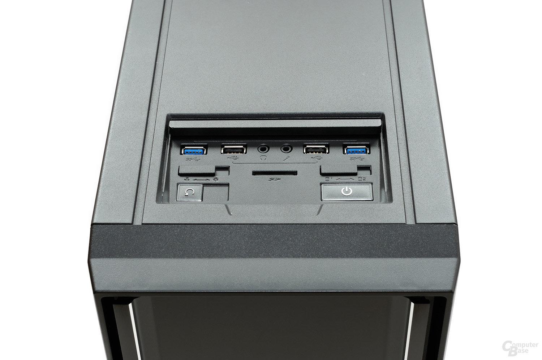CoolerMaster Silencio 650 – Frontpanel