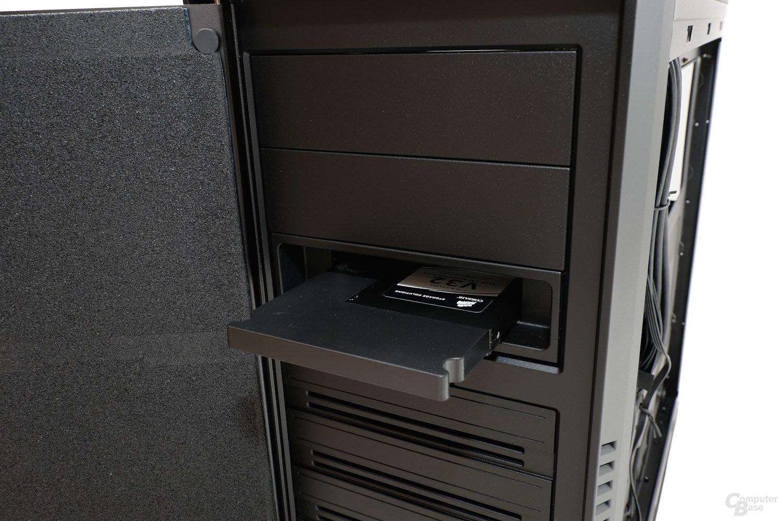 CoolerMaster Silencio 650 – Hot-Swap-Einschub