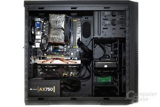 CoolerMaster Silencio 650 – Testsystem