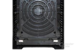 CoolerMaster Silencio 650 – Rückseite der Frontabdeckung