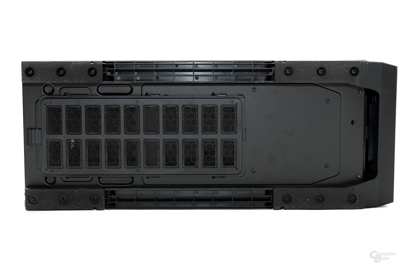 CoolerMaster Silencio 650 – Untersicht