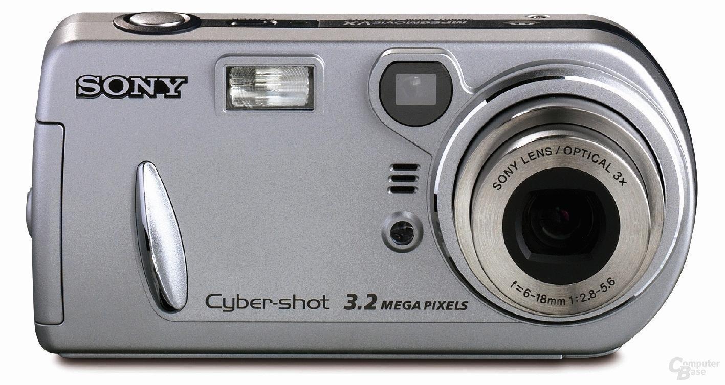 Sony Cyber-shot DSC-P-72 frontal