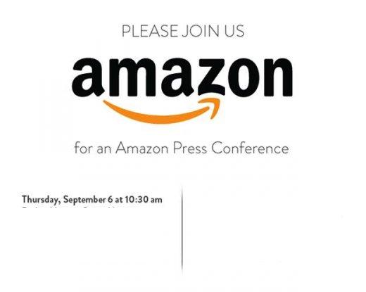 Amazon Pressekonferenz