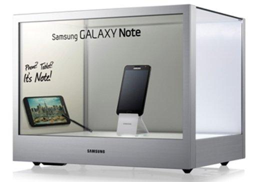 "Samsung NL22B im ""Showcase-PC"""
