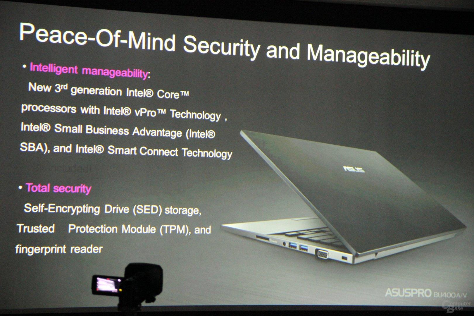 Asus-Notebooks zur IFA 2012