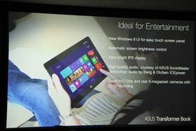 Asus-Notebooks zur IFA 2012