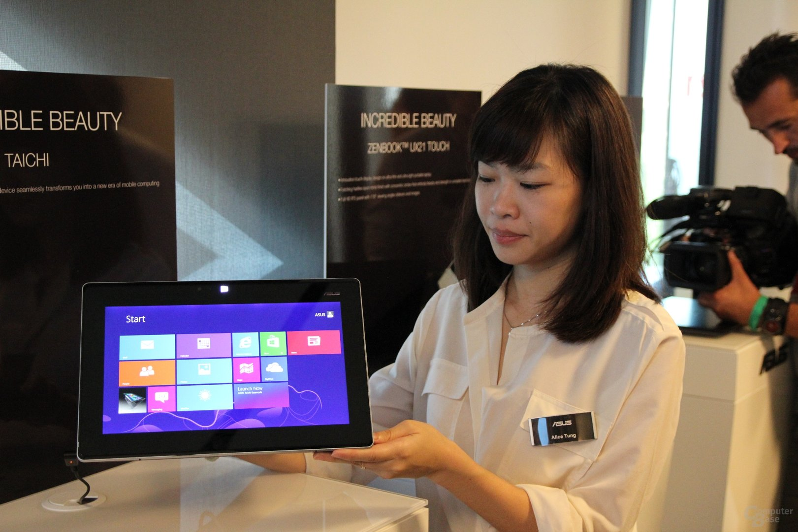 Asus-Notebooks zur IFA 2012 angefasst