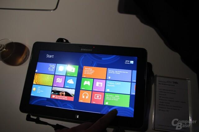 Samsung-Vorstellungen für Windows 8