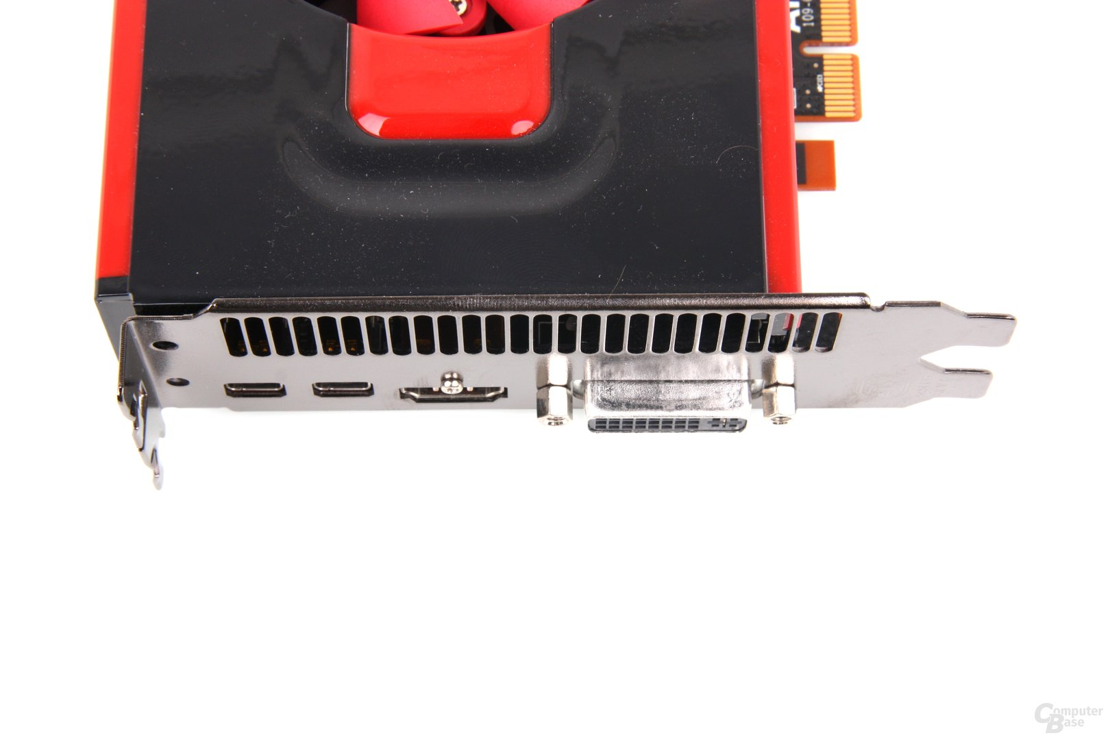 Radeon HD 7750 V2 Anschlüsse