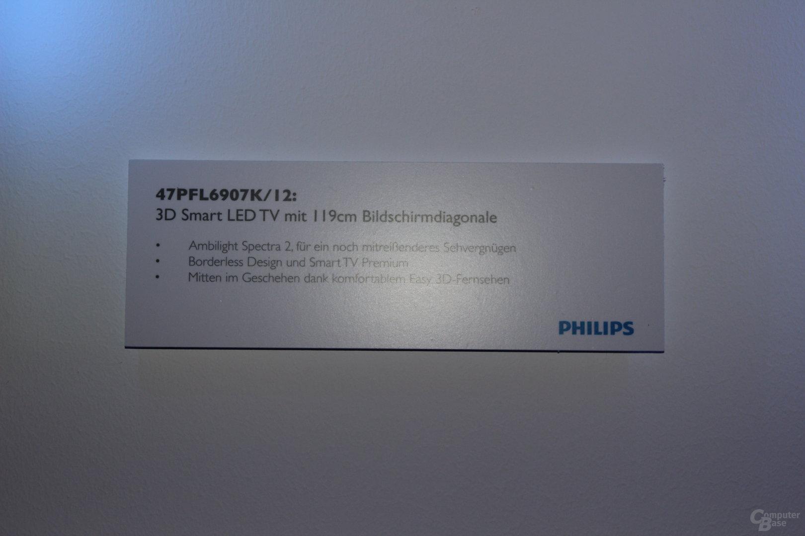 Neue Fernseher und Fernbedienung mit Tastatur von Philips