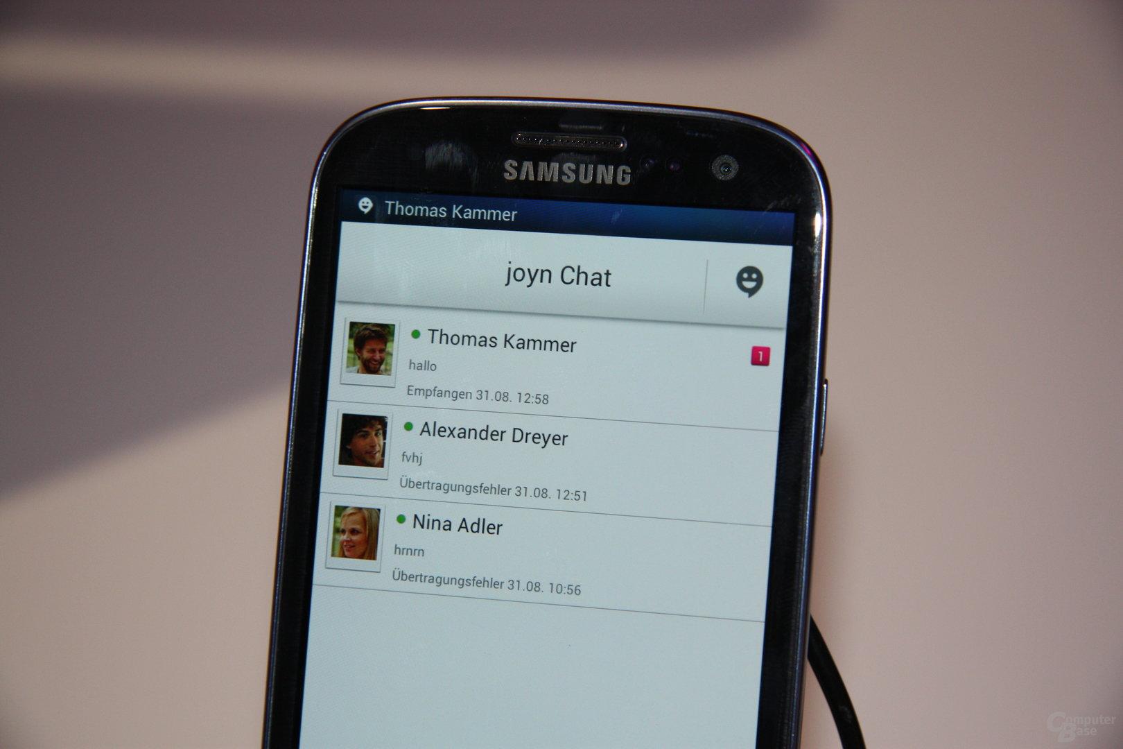 SMS-Nachfolger Joyn bei der Telekom