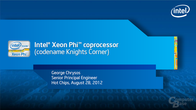 Intel Xepn Phi auf der Hot Chips 2012