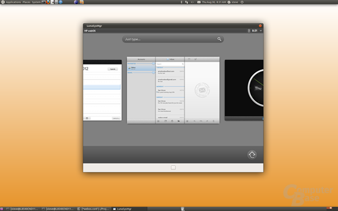 Open webOS System Manager