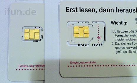 Nano-SIM der Deutschen Telekom