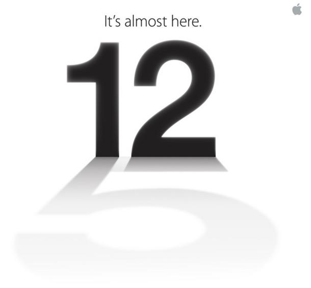 Ausschnitt der Einladung für Apples Veranstaltung