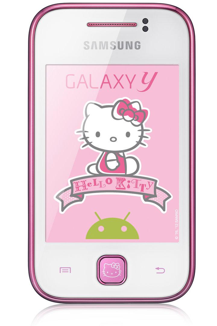 """Samsung Galaxy Y """"Hello Kitty""""-Edition"""