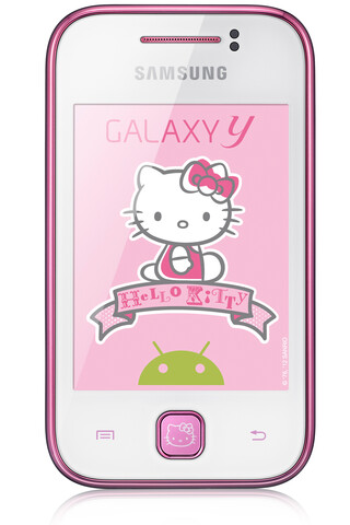 "Samsung Galaxy Y ""Hello Kitty""-Edition"