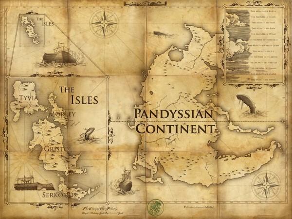 Karte der Spielwelt